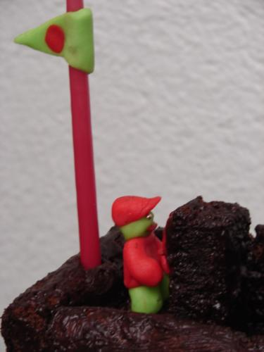 Piratenschiff-Kuchen für Laurin