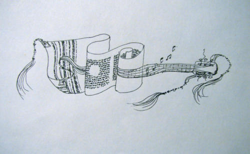 A Music tallit...